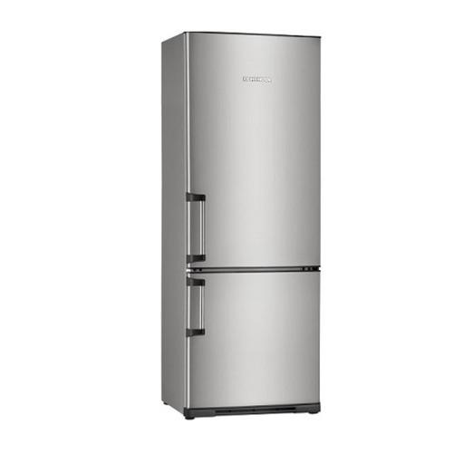 Heladera Koh-i-noor 302l Acero Kad-3294/7 C/freezer Combi Dy