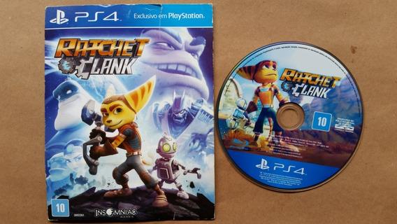 Ratchet Clank Ps4 Midia Fisica Em Ótimo Estado Frete R$12