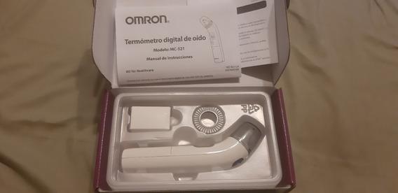 Termómetro Digital De Oído Omron Mc-521