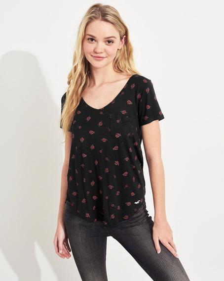 Camiseta Hollister Feminina Blusas Abercrombie Aeropostale