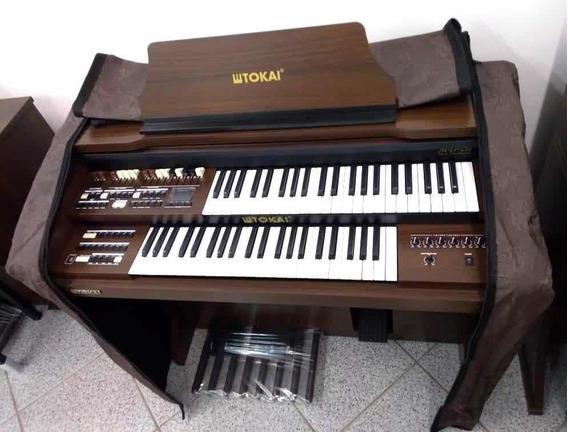 Capa Para Órgão Eletrônico E Banqueta