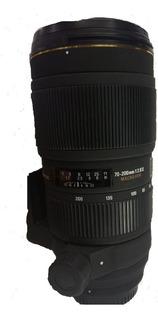 Lente Sigma 70-200 1:2.8 Ii Ex Montura Nikon Usado
