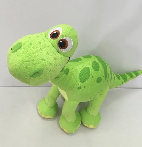 Pelúcia Bom Dinossauro Verde 50cm Presente Criança Diversão