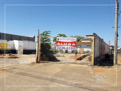 Terreno Comercial Para Locação, Cidade Jardim, Goiânia. - Te0101