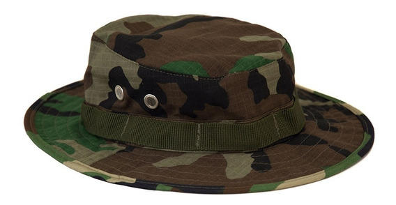Sombrero Junglero Camuflado Militar Policial Tácticos Caza