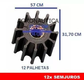 Rotor Bomba De Agua Yanmar Bt / Btd E Volvo Aq150 / B41