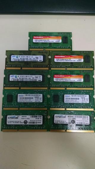 Memorias Ram Ddr3 1gb