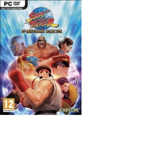 Street Fighter 30th Anniversary Collection-pc-dvd(midia Fisi