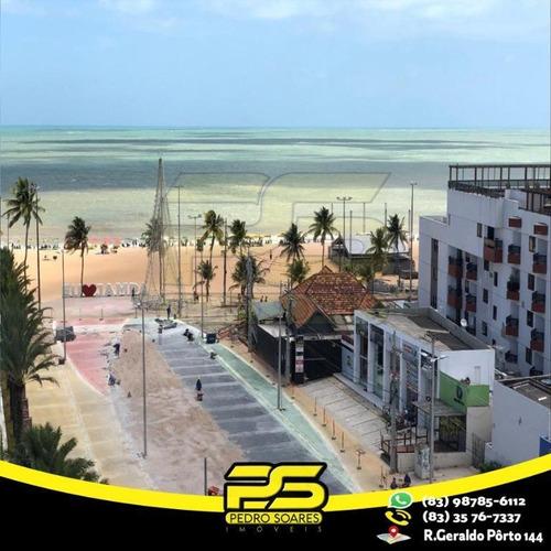 Imagem 1 de 11 de Flat Com 1 Dormitório Para Alugar, 30 M² Por R$ 3.000,00/mês - Tambaú - João Pessoa/pb - Fl0076