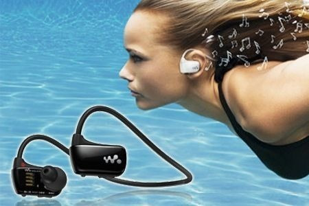 Fones De Ouvido Sony Waterproof Music Player- Nw-ws413