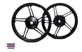 Par Rodas Moto Liga Leve Modelo 5 Titan Fan 125 150 160s/cam