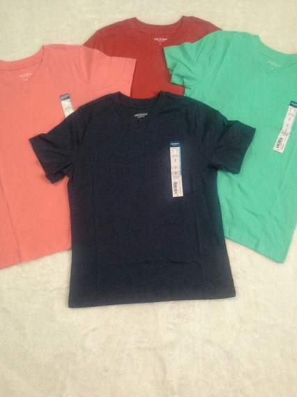 Arizona 3 Camisetas Nino Talla 8