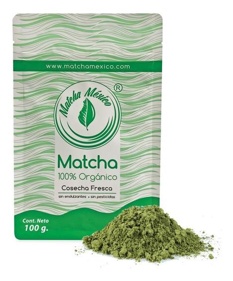 Matcha Orgánico 100g 100% Puro