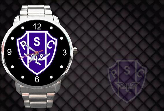 Relógio Personalizado Paysandu Futebol Bola Time
