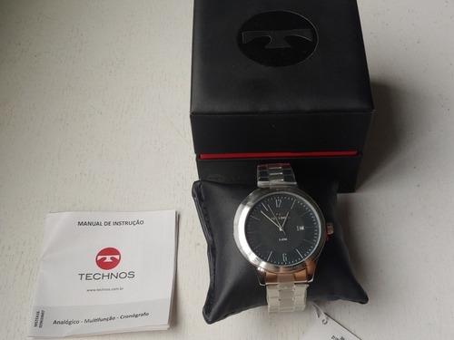 Relógio Technos Classic Steel ( Sem Uso, Com Trava)