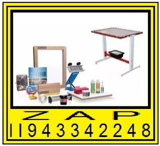 Maquina De Estampar Material Completo Para Estampar Kit