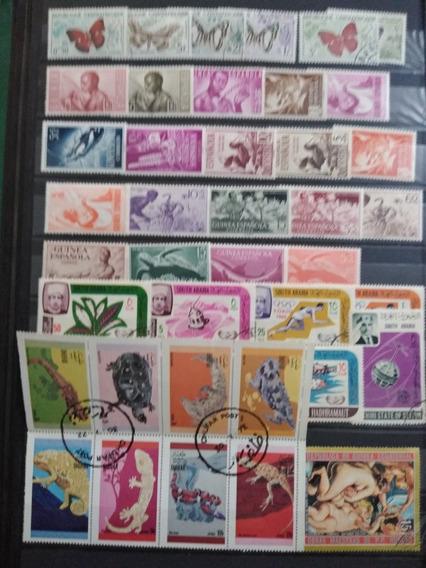 Filatelia. Colección 100 Timbres Del Mundo. P52