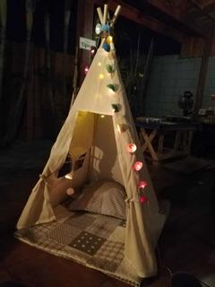 Tipi Tienda Indígena Para Niños
