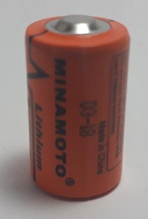 Bateria De Lithium Er14250 3.6v 1/2aa - Minamoto S/ Terminal