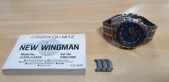 Relógio Citizen New Wingman Ii Titanium