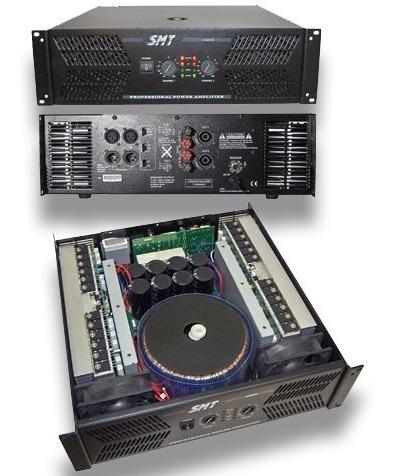Power Amplificador Smt De 6500w