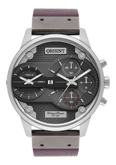 Relógio Orient Masculino Xl Cinza Mysct001g1mx