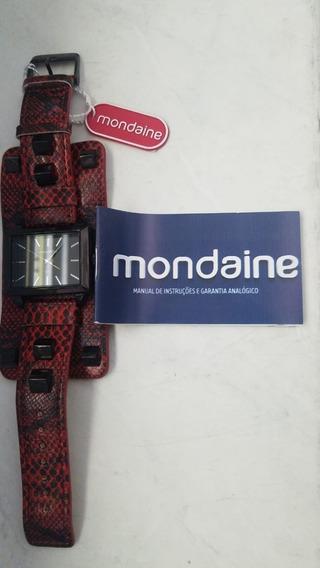 Relógio Mondaine F Fashion Vermelho 76391lpmvph2