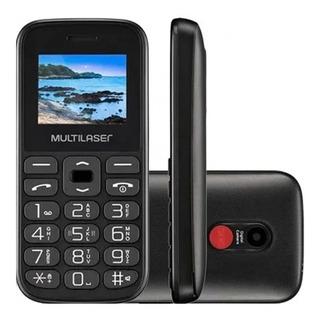 Celular Multilaser P/ Idoso Teclas Grandes Câmera Bluetooth