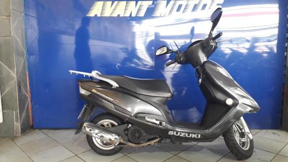 Suzuki Burgman 125 I Preta 2016