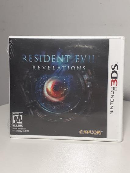Resident Evil Revelations 3ds Americano Lacrado