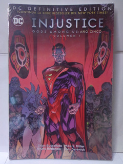 Injustice Gods Among Us: Año 5 Vol.1 Dc Definitive Edition