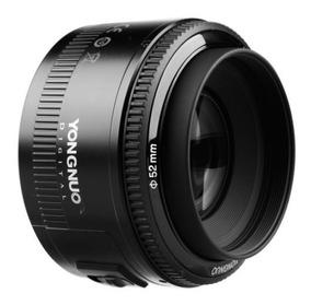 Lente Canon Ef 50mm F1.8 Yongnuo Canon Yn - Pronta Entrega