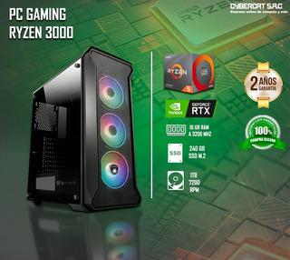 Cpu Gamer Amd Ryzen 5 3600x Nvidia Rtx 2060 16gb Ram