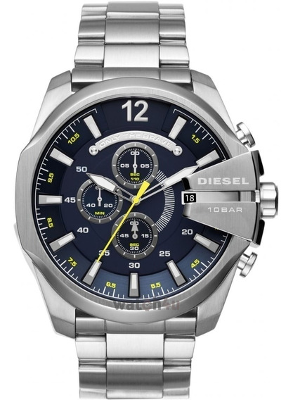 Relógio Diesel Dz4465 Aço Inox Mega Chief Na Caixa Original