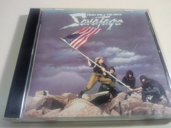 Savatage - Fight For The Rock - Made In Usa