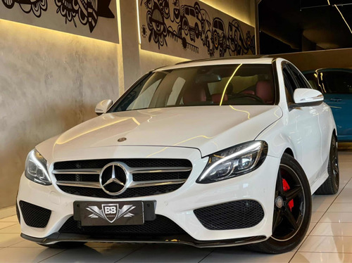 Mercedes C250 2.0 Cgi Sport 2015 Teto 84.000km Interno Verme