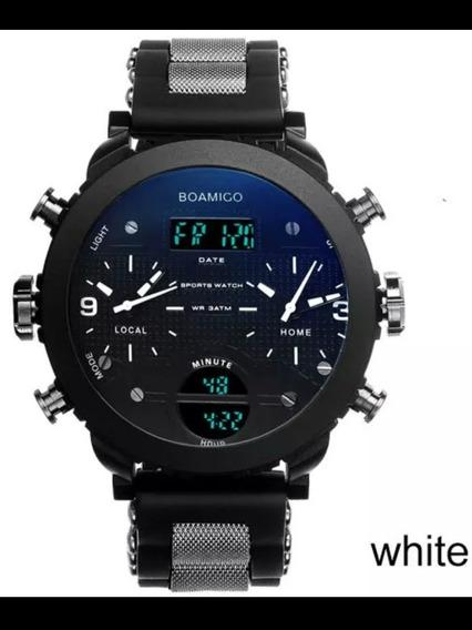 Relógio Marcador Duplo