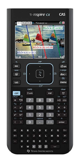 Calculadora Texas Nspire Cx Cas Calculadora Gráfica