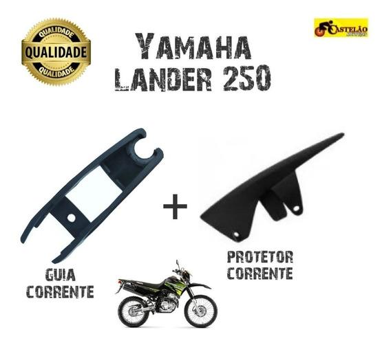 Guia Corrente Transmissao + Protetor Corrente Lander 250