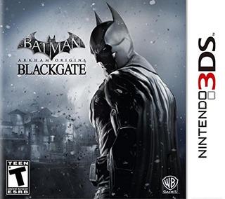 Juegos,batman Arkham Origins Blackgate - Nintendo 3ds..