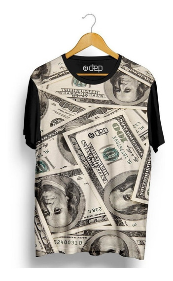 Camiseta Dep Dólar Bege
