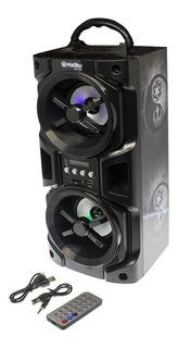 Parlante Portatil Malibu Bluetooth Cuotas Mundo Moda Hs 400 Impc