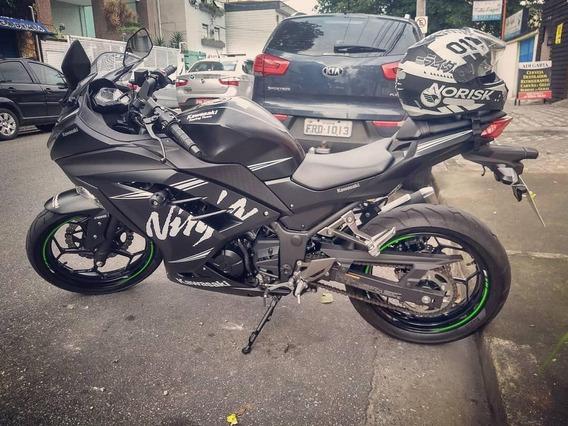 Ninja 300 Especial Edition Winter Test Abs