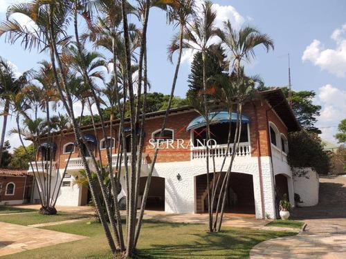 Imagem 1 de 30 de Casa Com 4 Dormitórios À Venda, 526 M² Por R$ 2.500.000,00 - Jardim Panorama - Vinhedo/sp - Ca0762
