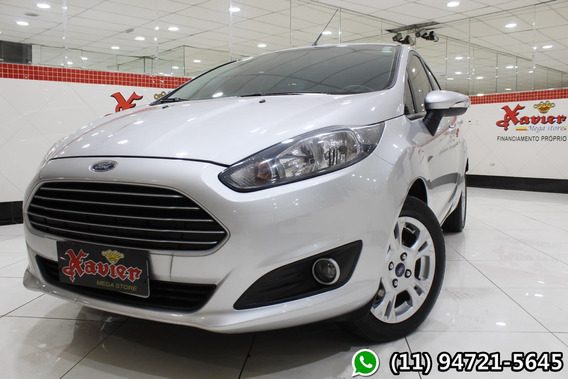 New Fiesta Se 1.6 Aut 2016 Prata Financiamento Próprio 9807