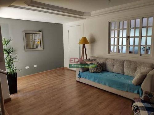 Imagem 1 de 6 de Sobrado Com 3 Dormitórios À Venda, 140 M² Por R$ 395.000 - Parque Califórnia - Jacareí/sp - So2324