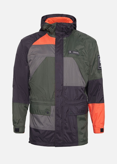 Chamarra Timberland Ræburn Weatherbreaker Impermeable Patch