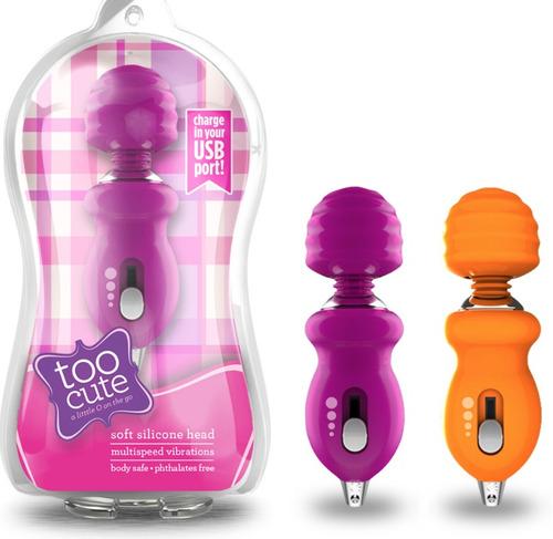 Mini Vibrador Recargable Usb Para Clitoris Cabeza Flexible