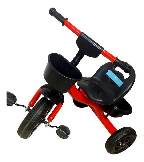 Triciclo Infantil Reforzado Con Canasto Pedal Lullaby