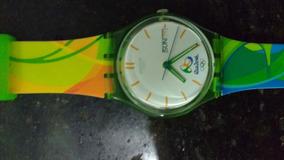 Relógio Comemorativo Olímpico Rio2016 + Brinde